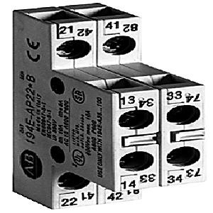 194E-E-P11 AUXILIARY CONTACTS